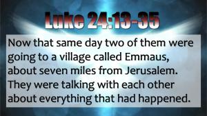 Luke 24:13-33