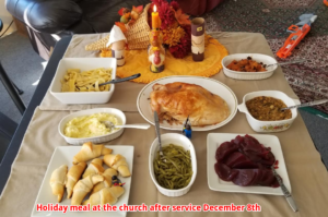 NBBC Holiday meal Dec 8th