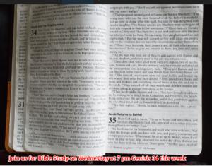 NBBC Bible study